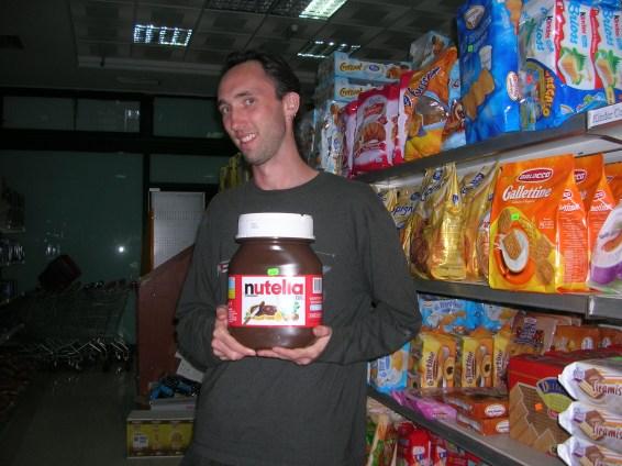 Nutella in Albania