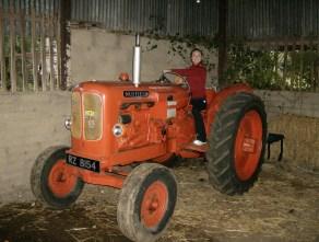 Savannah playing at farming
