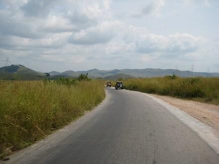 overland trip, Democratic Republic of the Congo