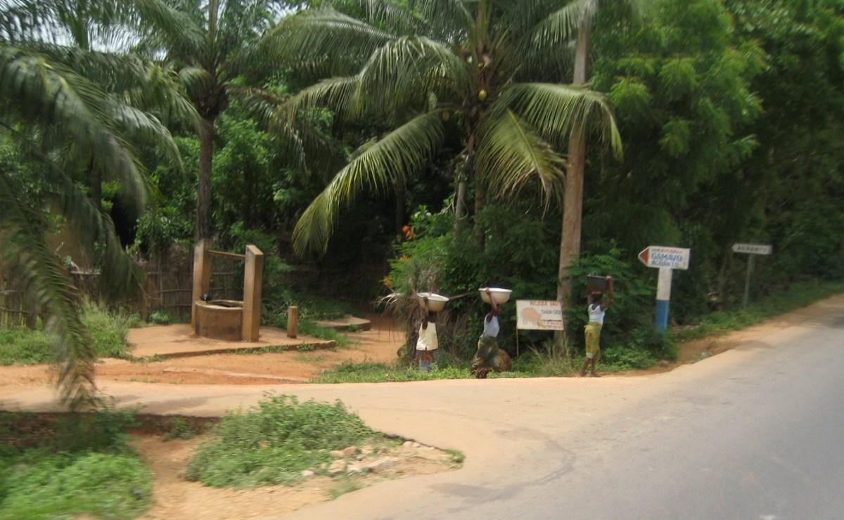 Water carriers, Benin