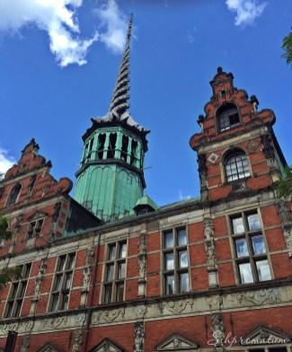 Borsen is a 17th-century stock exchange in the center of Copenhagen.