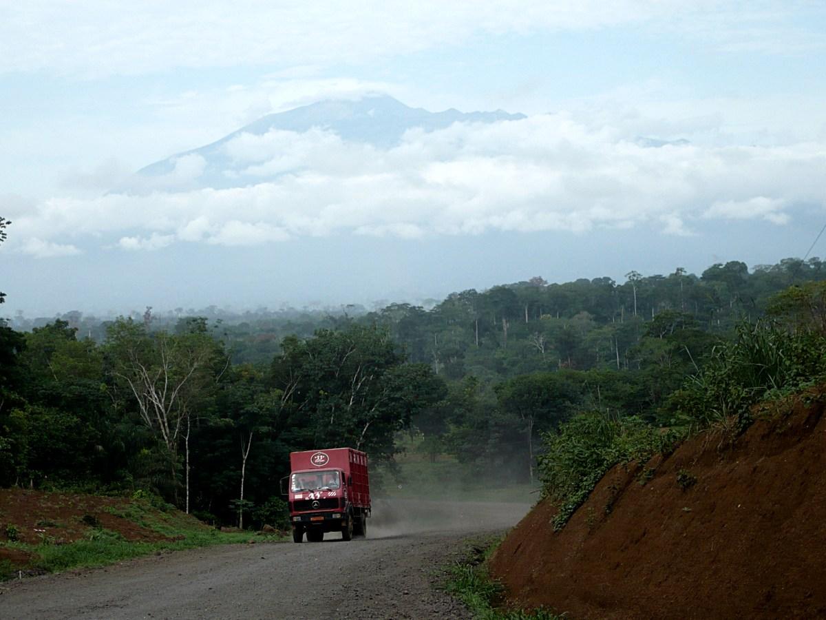 dusty roads of Cameroon