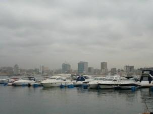 Harbour of Luanda , Angola