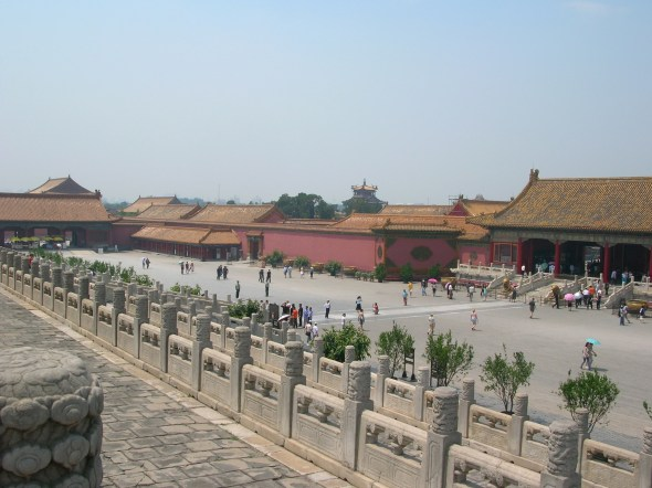 """The Forbidden City was a palace used by emperors and their households for five hundred years. No one other than servants and lovers could ever enter, hence the name """"Forbidden."""""""