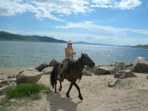Mongolian horses are very small and stocky, but I quickly learned not to judge a book by its cover.