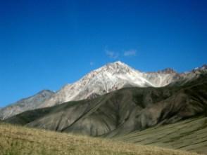 Song Kul, Kyrgystan. Backpacks and Bra Straps