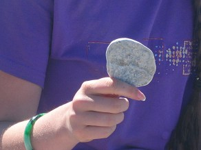 perfect skipping stone. Backpacks and Bra Straps