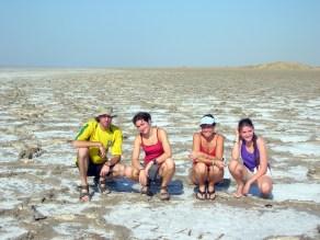 Aydingkol Lake. Western China