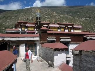 Drepung Monastery. Tibet. Bacipacks and Bra Straps