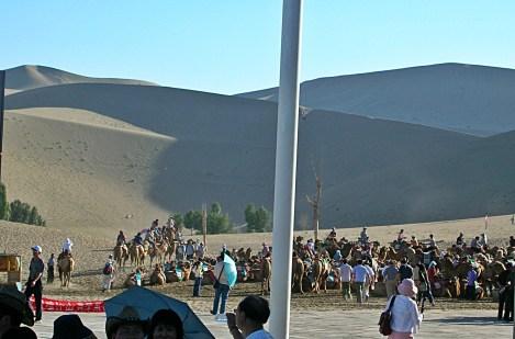 sand dunes. Western China