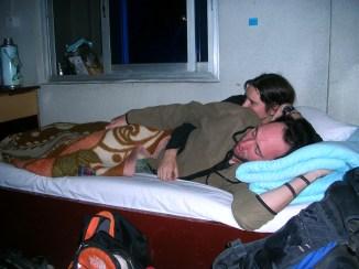 altitude sickness in Tibet. Backpacks and Bra Straps