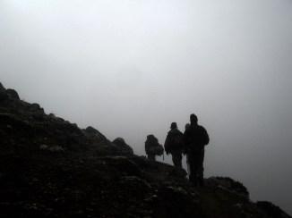 Trekking in Nepal. Backpacks and Bra Straps