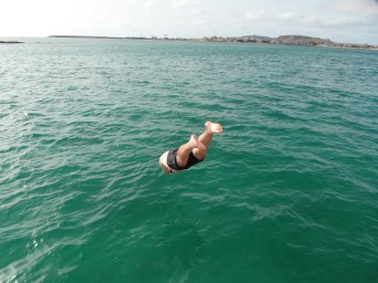 Water boy. Cape Verde