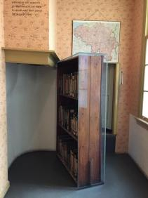 Anne Frank house secret door