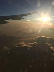 Flying High KLM over Peru