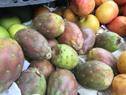 Lima Peru. cactus fruit