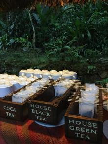 tea time at Inkaterra Machu Picchu Puerblo Hotel, Peru