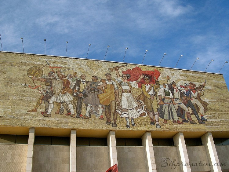 National Historical Museum - Tirana, Albania