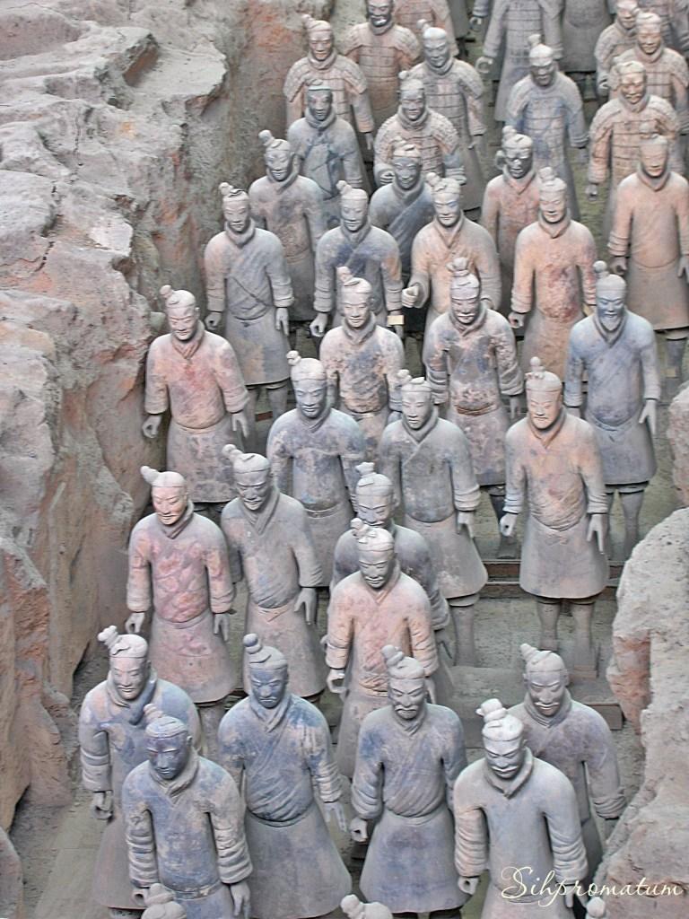 Terra Cotta Army. CHina
