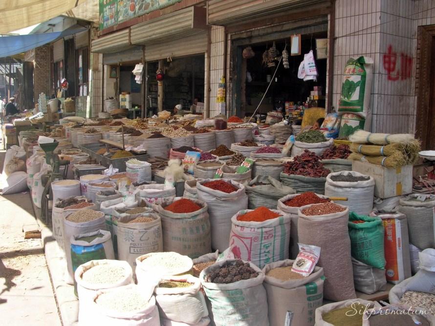 Kashgar market ,China