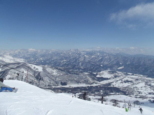 slopes in Japan
