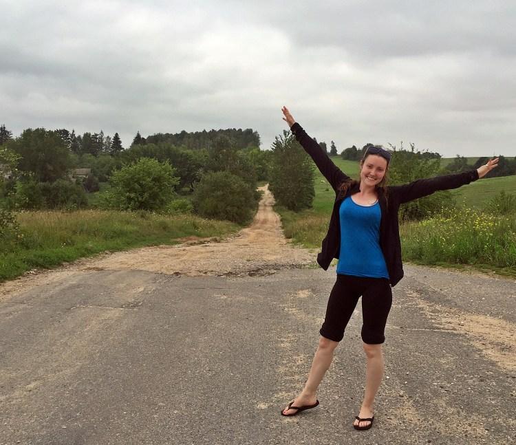 Taking a little detour. Belarus