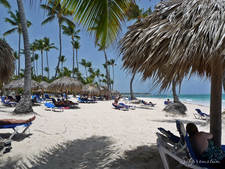 Beach time at the Resort in Punta Cana.