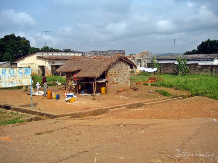Small town life in DRC