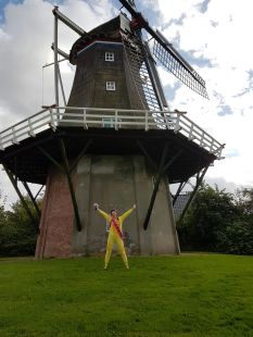 windmill and Savannah Grace