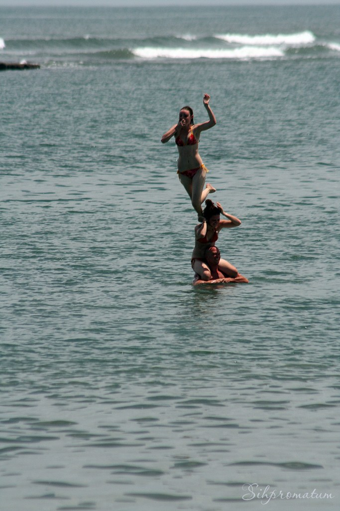 Playing in the Gulf of Guinea