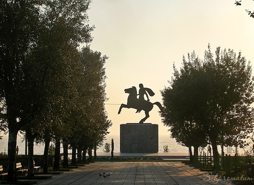 Statue of Alexander the Great in Thessaloniki