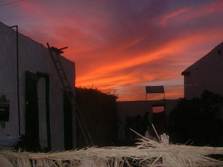 Mauritania sunset