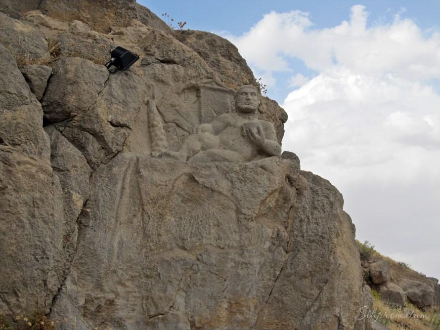 Bisotun, near Kermanshah