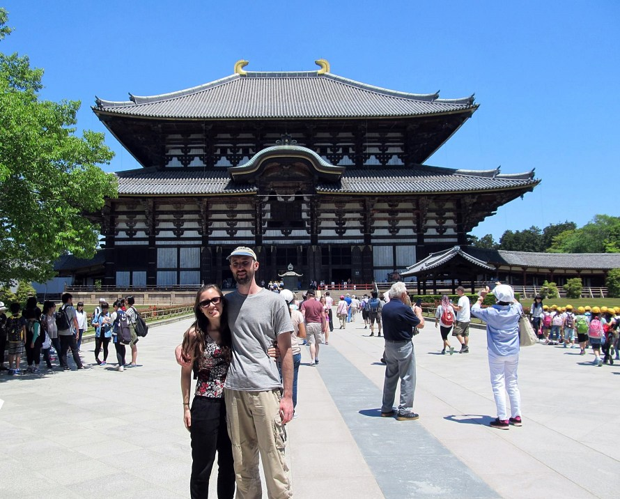 Todai-ji, nara osaka Japan