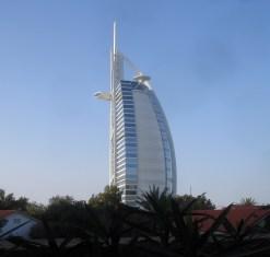 The Burj Al Arab is a luxury hotel .