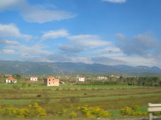 Albanian countryside