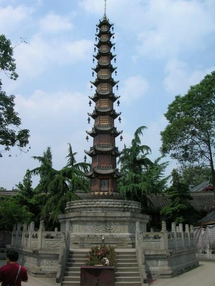 Wenshu Temple Pagoda - Chengdu