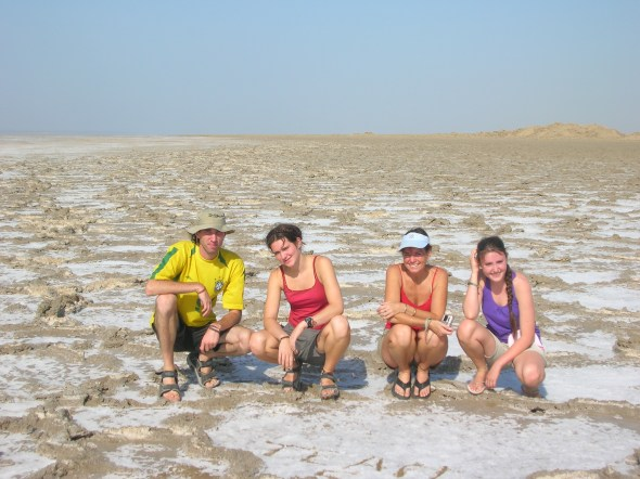 Turpan Basin lowest point in China