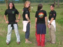 Our new trekking shirts