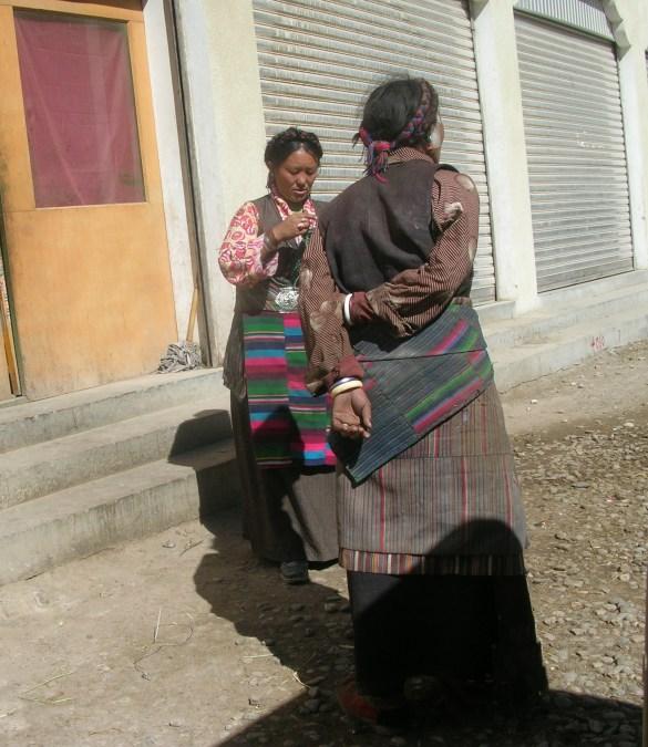 Tibetan ladies