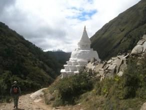 One of many stupas