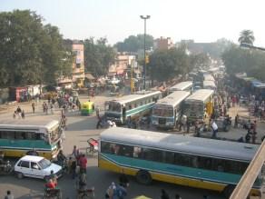 Bus stop - Kolkata