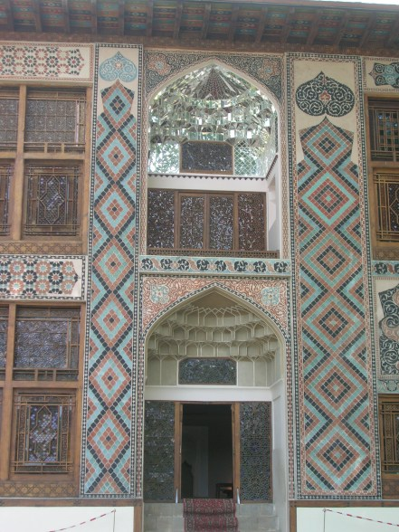Azerbaijan, Amazing tile work
