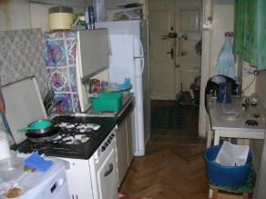 Our hosts kitchen, Armenia