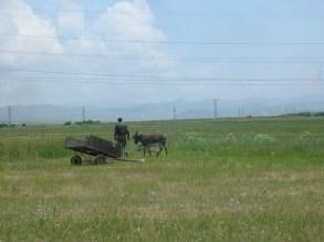 walk through the countryside in Marmashan, Armenia