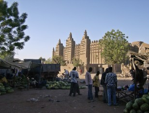 The Great Mosque - Djenne