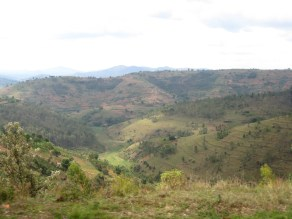Burundi country side