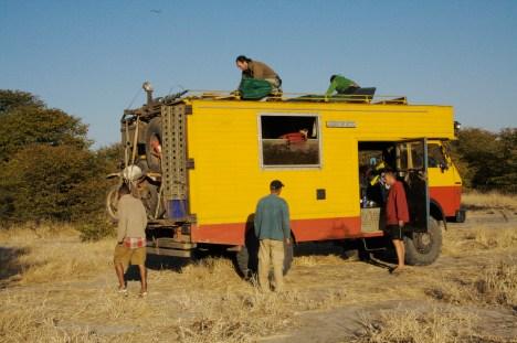 Camping, Botswana