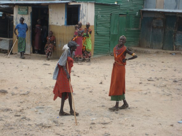 Very colourful women