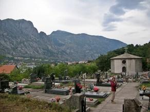 Graveyard, outside Kotor